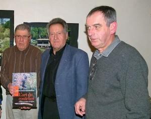 De g. à d. Marc Prival, Georges Therre et Michel Sablonnière